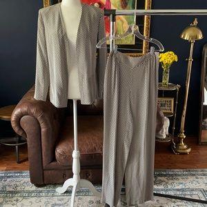 Luxury rare Parisian silk set